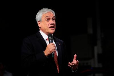 """Piñera rechaza acusaciones de veto de Ossandón: """"Chile Vamos no discrimina ni censura a nadie"""""""
