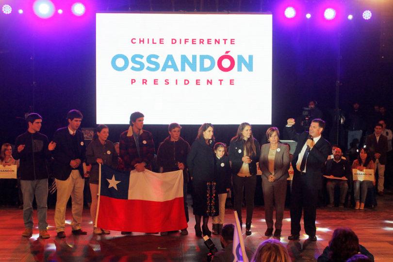 Ossandón lanza candidatura presidencial instando a Kast y Piñera a donar su sueldo en campaña