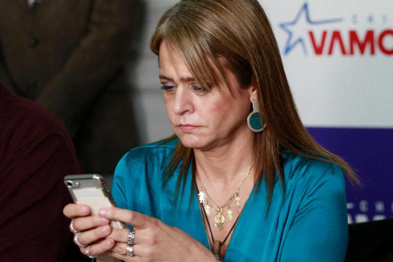 """Jacqueline Van Rysselberghe se las cobra al fiscal Gajardo y le habla de """"sus amigos en el PS"""""""