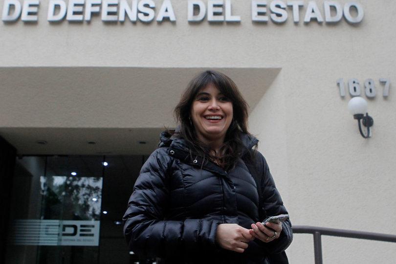 Javiera Blanco prestó declaración como testigo por millonario fraude en Carabineros