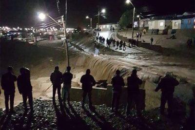 Onemi: 120 damnificados, 1.304 albergados y 1.248 aislados en la región de Atacama