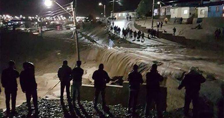 """""""Onemi: 120 damnificados, 1.304 albergados y 1.248 aislados en la región de Atacama"""""""