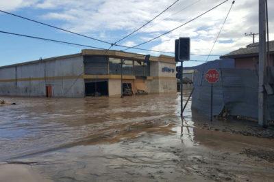 FOTOS |Doce postales que dejó el desborde del río Salado en Chañaral