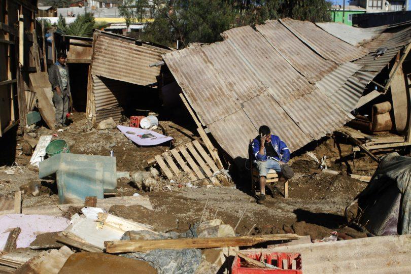 Nuevo balance de la Onemi por sistema frontal en Atacama y Coquimbo: dos personas fallecidas