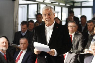 """Piñera se disculpa por broma machista y lamenta """"aprovechamiento político"""""""