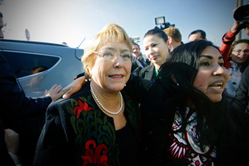 """Michelle Bachelet en el Biobío: """"Valió la pena volver a Chile para ser Presidenta"""""""