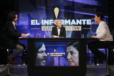 Las frases y momentos que marcaron el debate entre Sánchez y Mayol en TVN