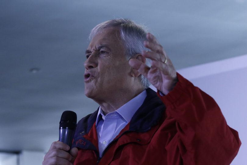 """Piñera en campaña: """"La Nueva Mayoría usará armas debidas e indebidas para retener el poder"""""""