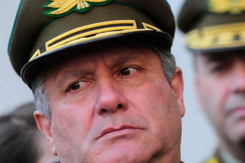 """General Villalobos no renunciará: """"Mi idea es solucionar el problema y no arrancarme"""""""