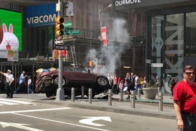 Policía de Nueva York revela quién es el autor de atropello múltiple en Times Square