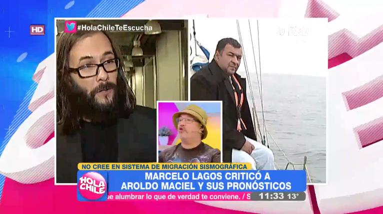 """VIDEO   Marcelo Lagos explica por qué no se """"predicen"""" los sismos y Salfate responde con frase para el bronce"""