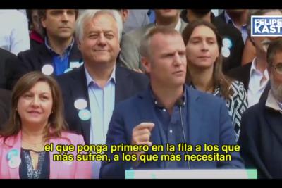 VIDEO |Uno de los principales rostros de TVN se suma a la campaña de Felipe Kast