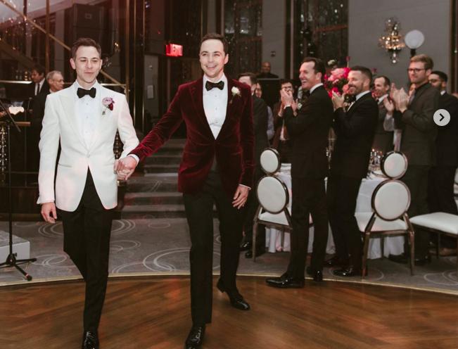 FOTOS |Sheldon Cooper de The Big Bang Theory se casó con su novio después de 14 años