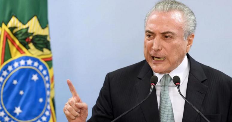 """""""Presidente de Brasil tras publicación de audios: """"No voy a renunciar. Venga lo que venga exijo una investigación"""""""""""