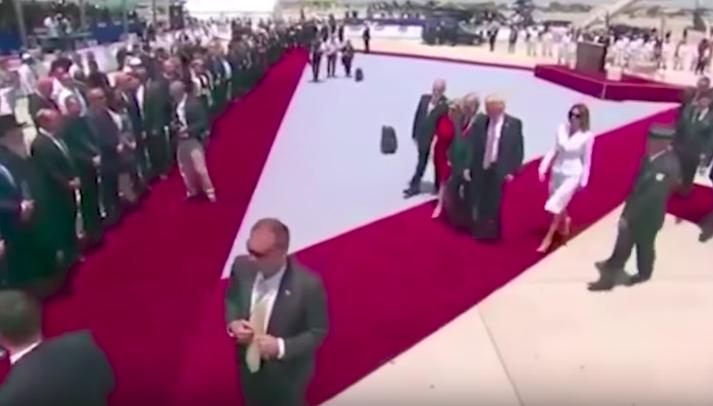 VIDEO | El gesto de rechazo de Melania a Donald Trump del que todo el mundo habla