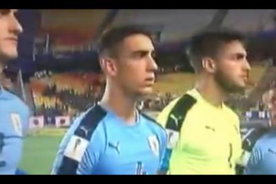 Seguimos siendo su peor pesadilla: confunden himno de Uruguay con el chileno en Mundial Sub 20