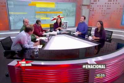 """Round de antología entre Estado Nacional de TVN y La Segunda, """"el diario que nadie lee"""""""