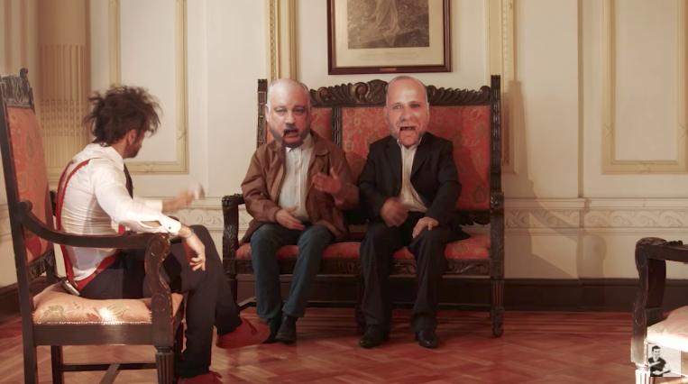 VIDEO |Tomás Mochato destruye al PS de Elizalde y al PC de Teillier en delirante parodia