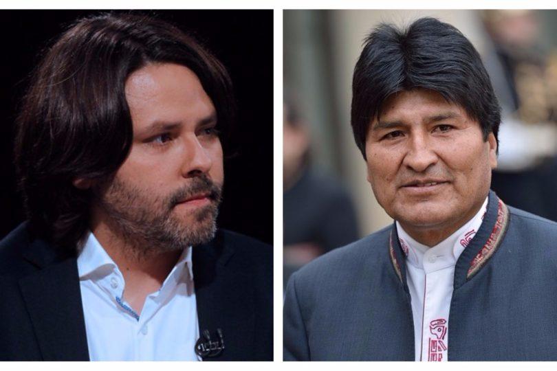 Alberto Mayol suma apoyo de Evo Morales para su candidatura presidencial