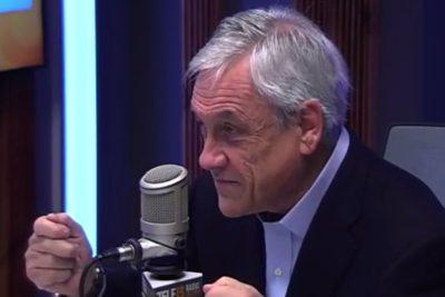 """Piñera e impuestos: """"Después me van a pedir que muestre que me paseé desnudo por el Paseo Ahumada"""""""