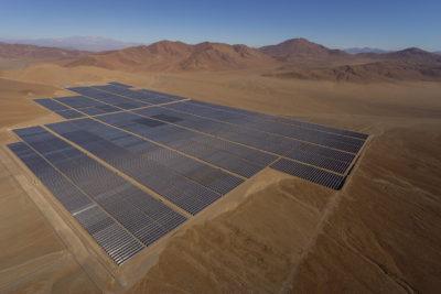 Antofagasta Minerals pone fin a su participación en central fotovoltaica Javiera