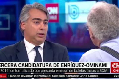 """VIDEO   Bombazo en vivo de ME-O a Mosciatti: le recordó condena judicial por """"la colusión de Bío Bío"""""""