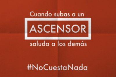 """#NoCuestaNada, la campaña que busca """"un país más amable"""" con 30 simples actitudes"""