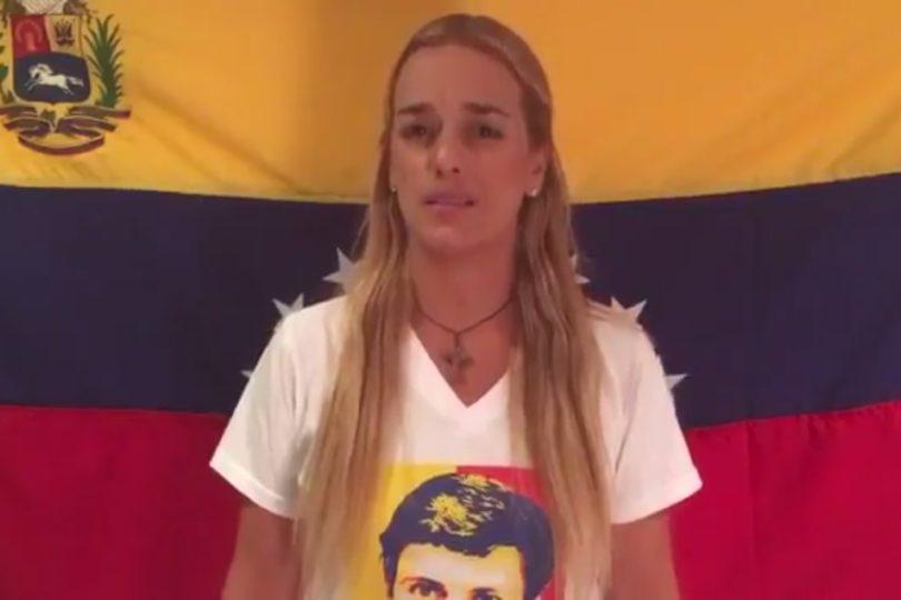 VIDEO | Esposa de Leopoldo López acredita bienestar de dirigente opositor a Nicolás Maduro