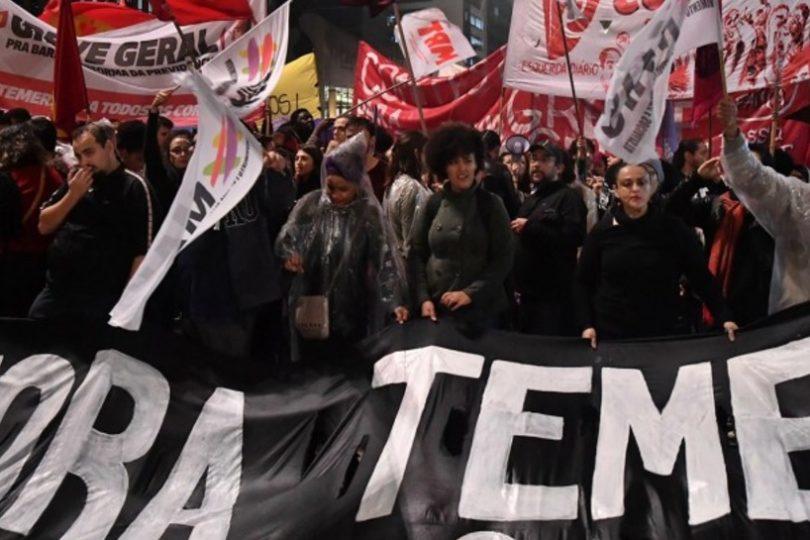 VIDEO   Miles de brasileros se tomaron las calles para pedir la renuncia de Michel Temer