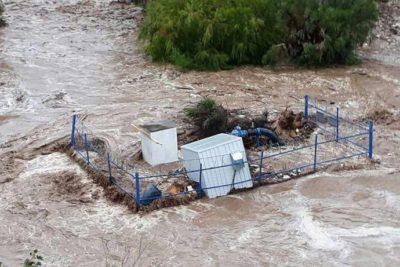 Desborde de embalse Recoleta dejará sin agua potable por 15 días a la población de Ovalle