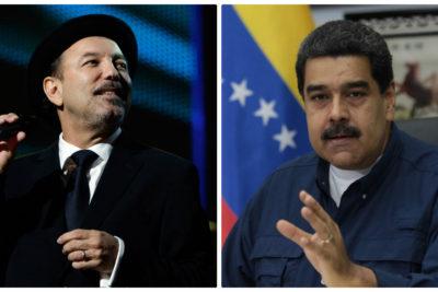 La contudente respuesta de cantante Rubén Blades que de seguro dejó corriendo en círculos a Nicolás Maduro