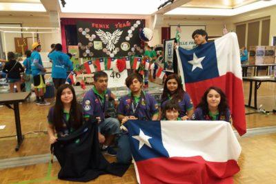 Escolares de Conchalí lograron el segundo lugar en concurso de robótica de EE.UU.