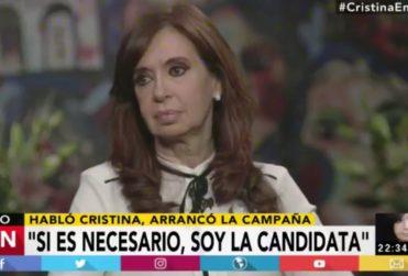 Cristina Fernández vuelve a la política: se presentará como candidata al Senado