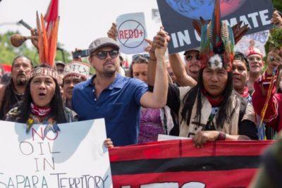 Leo Di Caprio visita Chile para participar de congreso internacional de ecología