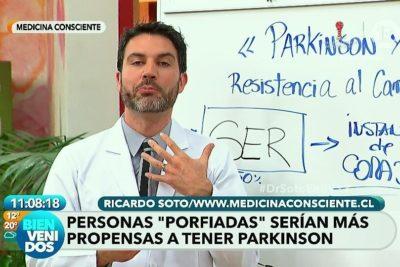 Doctor Soto y Bienvenidos lo hacen de nuevo con teoría sobre la enfermedad de Parkinson