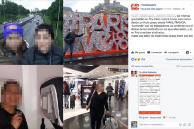 Los mensajes en redes sociales que Fruna publicó y borró en medio de la crisis