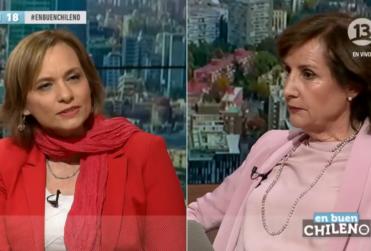 VIDEO | Así fue como Carolina Goic le paró los carros a Pilar Molina en programa de Canal 13