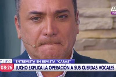 """Luis Jara confirma tumor: """"Mi mayor miedo es quedar sin voz"""""""