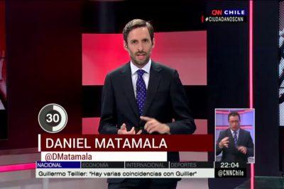 """Matamala le recuerda a la NM el """"escenario de pesadilla"""" que vivirán gracias al Frente Amplio"""