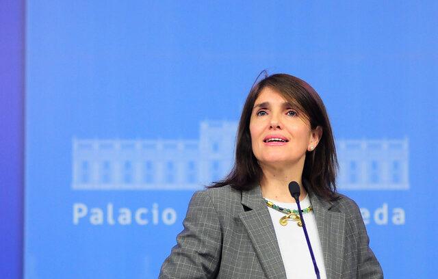 """Ministra Narváez insiste en que"