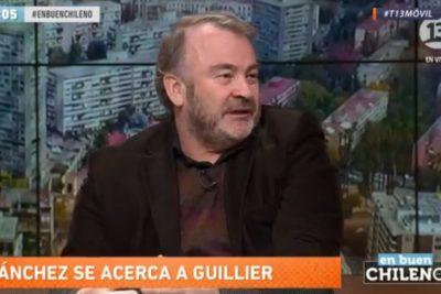 """El diagnóstico de Pepe Auth sobre la candidatura de Guillier: """"El problema es que todavía piensa como periodista"""""""