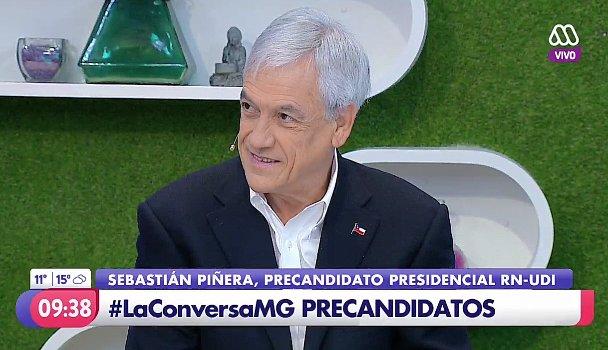 """Sebastián Piñera se cuadra con Cecilia Pérez: """"Yo también he recibido muchos ataques y memes"""""""