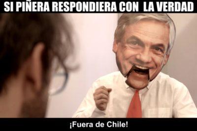 VIDEO | Delirante parodia a Sebastián Piñera se transforma en el viral del momento en un par de horas