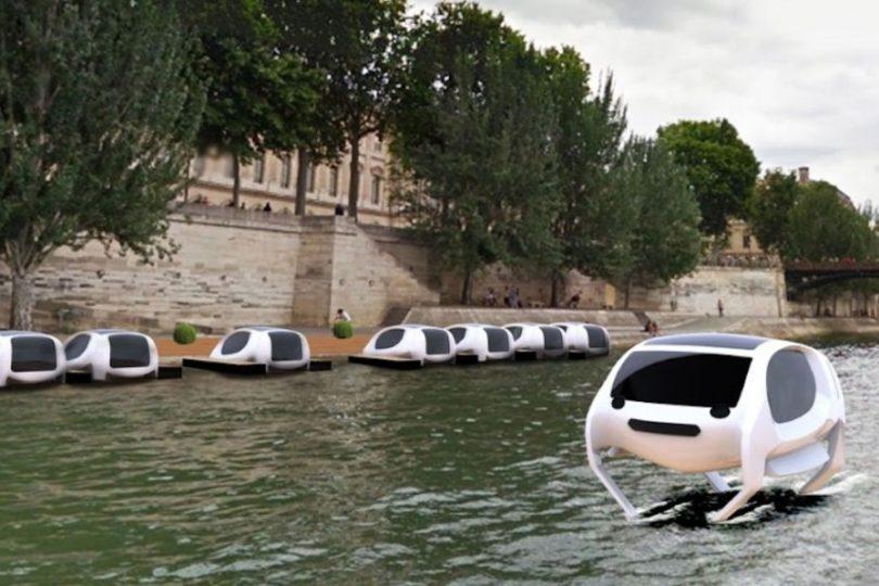SeaBubbles, el primer taxi acuático y limpio ya es una realidad