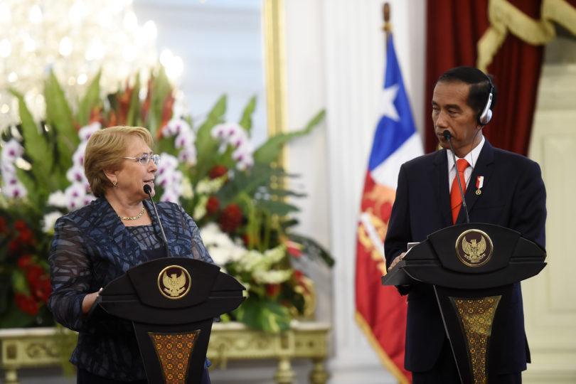 """Bachelet opta por no referirse al escándalo """"Inversiones PS"""""""