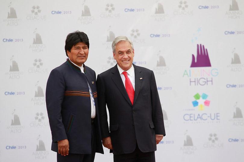 """Evo Morales sigue en su arremetida contra Piñera y lo tildó de """"jefe de la oligarquía pinochetista"""""""