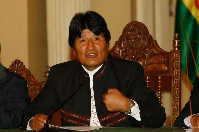 """Evo Morales responde al desafío tuitero del canciller Muñoz: """"Quieren humillarnos"""""""