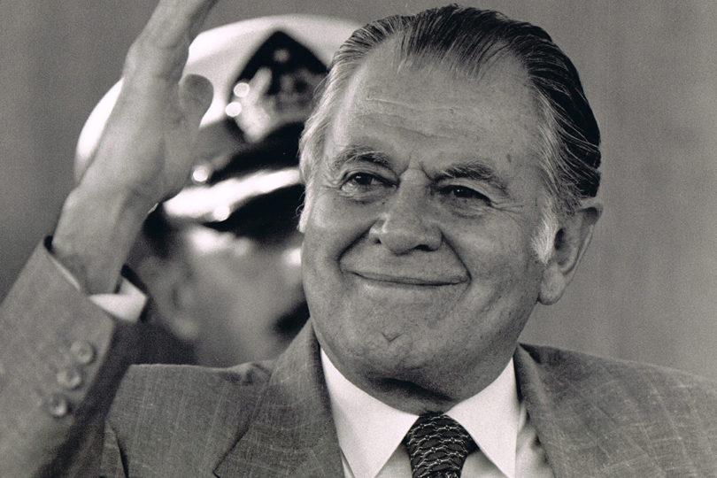 Así debiera ser la estatua del ex Presidente Patricio Aylwin que se instalará en la Plaza de la Ciudadanía