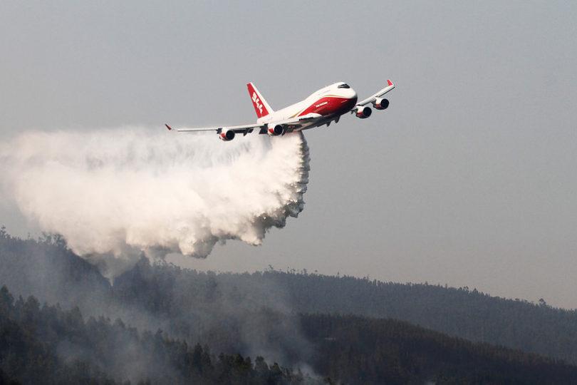 Conaf desmitifica aporte del SuperTanker: tuvo efectividad del 13% en combate de incendios