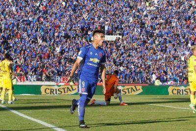 Felipe Mora a un paso de dejar U. de Chile y fichar en Cruz Azul de México